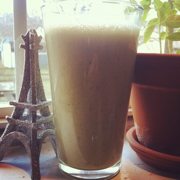 morning smoothie.