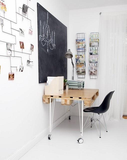 Ikea hack 3 indie fixx - Bureau ikea treteaux ...