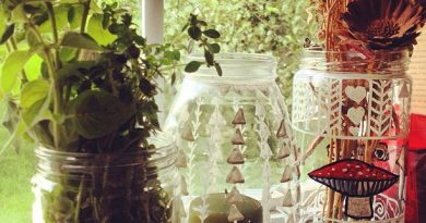 DIY Ecthed Glass Containers