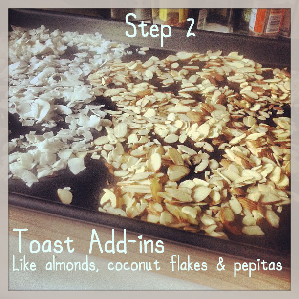 how to make homemade crunchy muesli
